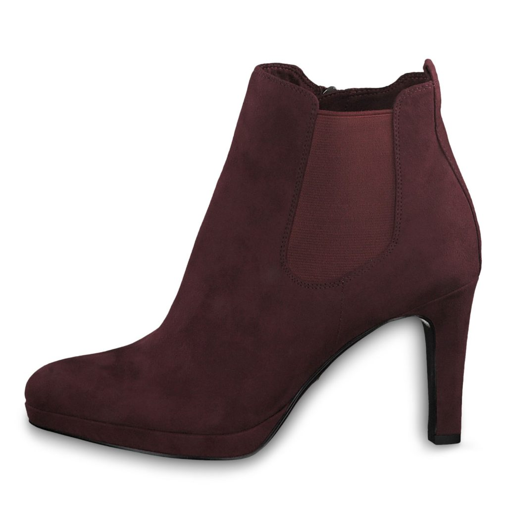 Damen sam&frieda | Tamaris, Stiefelette, bordeaux, Mat. Mix., Art. Nr.:25704 23